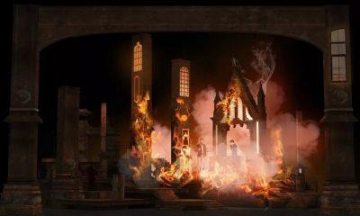 沉浸式悬疑音乐剧《FLAMES火焰》宣传片